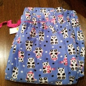 Panda Pajama pants
